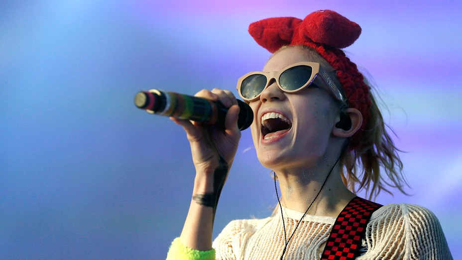 Grimes performs at St Jerome's Laneway Festival -Getty - H 2016