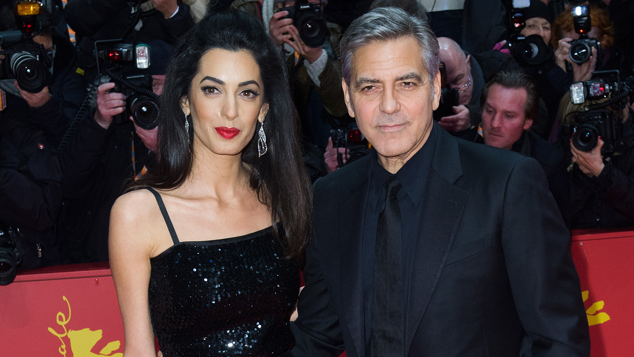 George and Amal Clooney GETTY - H 2016
