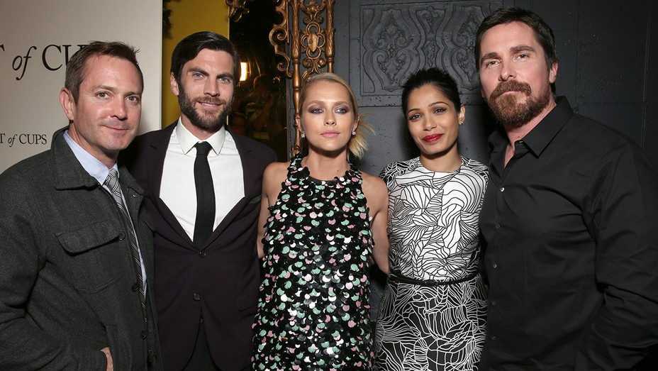Thomas Lennon, Wes Bentley, Teresa Palmer, Freida Pinto, and Christian Bale - H 2016