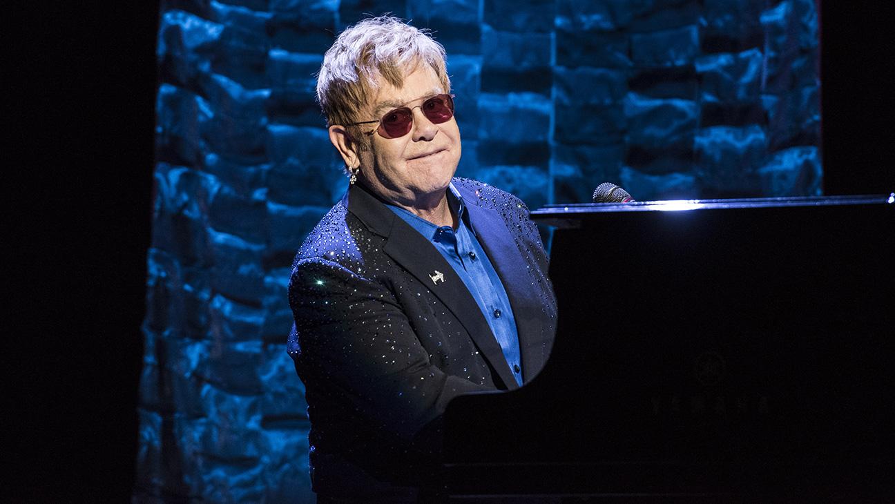 Elton John - GETTY - H 2016