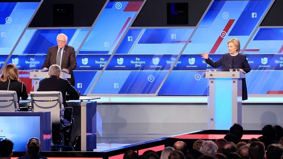 Democratic Debate Miami GETTY H 2016
