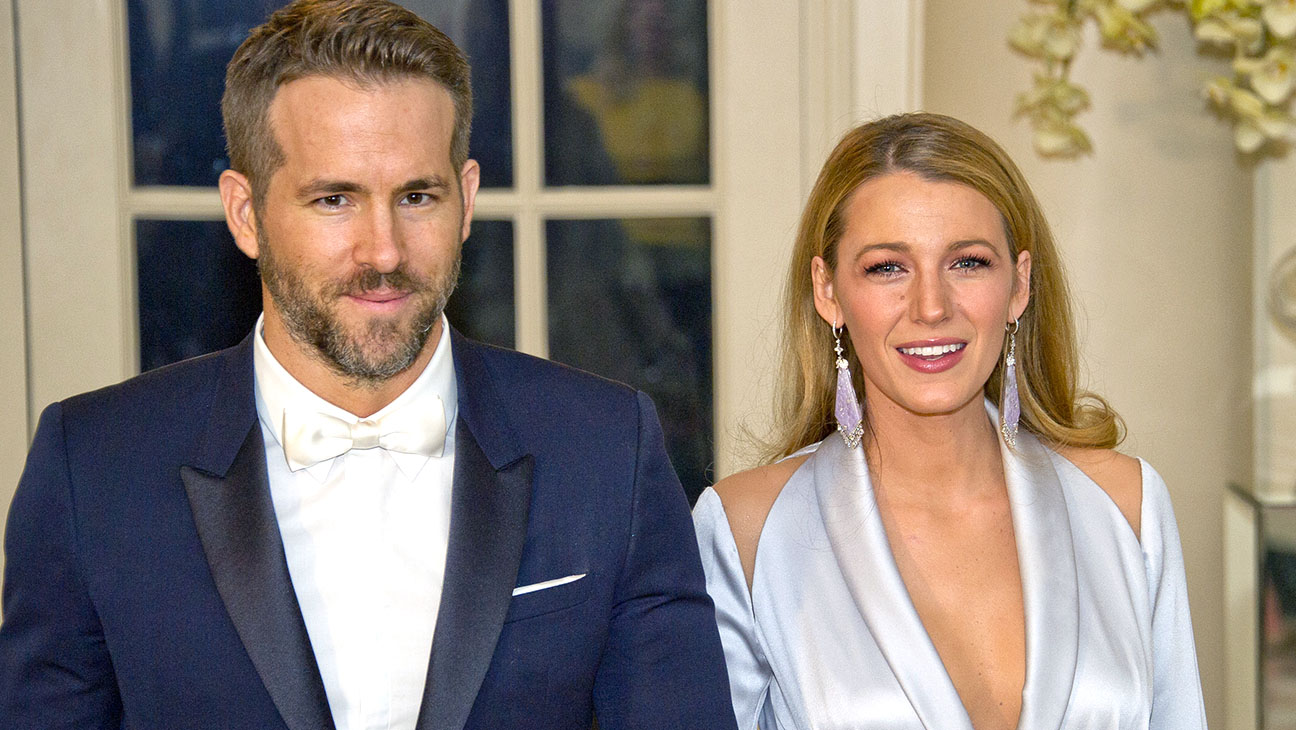 Ryan Reynolds and Blake Lively -State Dinner  March 10, 2016 -Getty- H2016