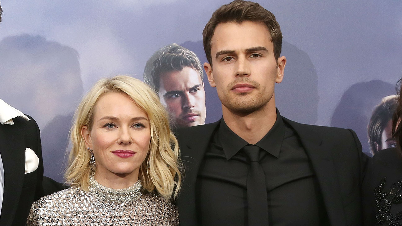 Naomi Watts and Theo James at the Allegiant premiere in New York - H 2016
