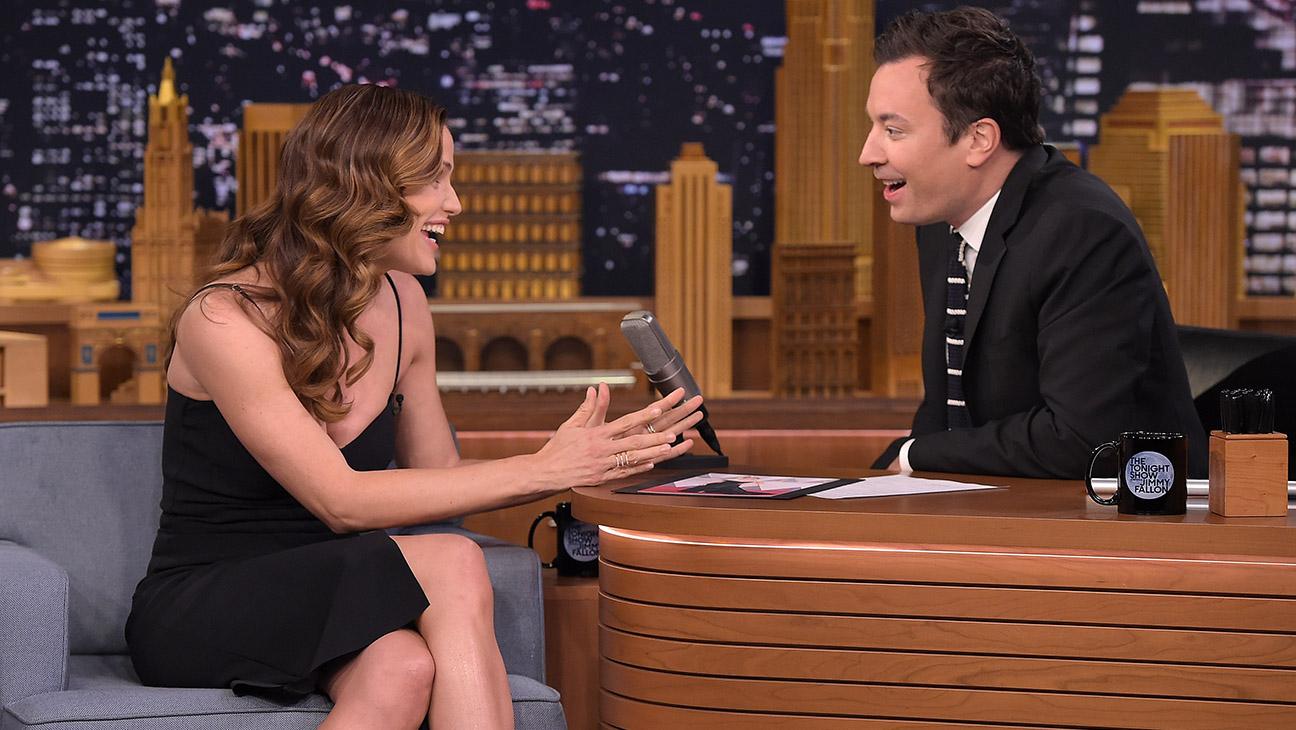 Jennifer Garner Visits The Tonight Show Starring Jimmy Fallon-H 2016