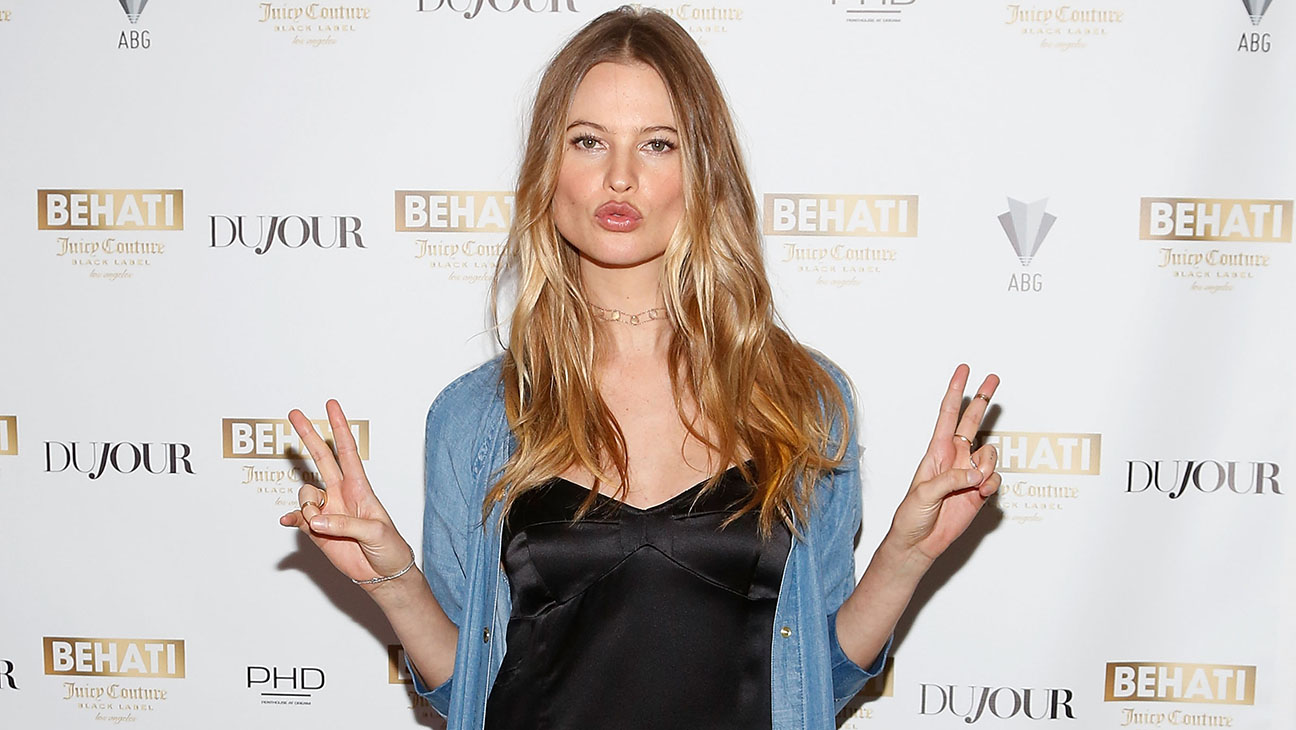 Behati Prinsloo at Launch Of Behati Juicy Couture Black Label  GETTY - H 2016
