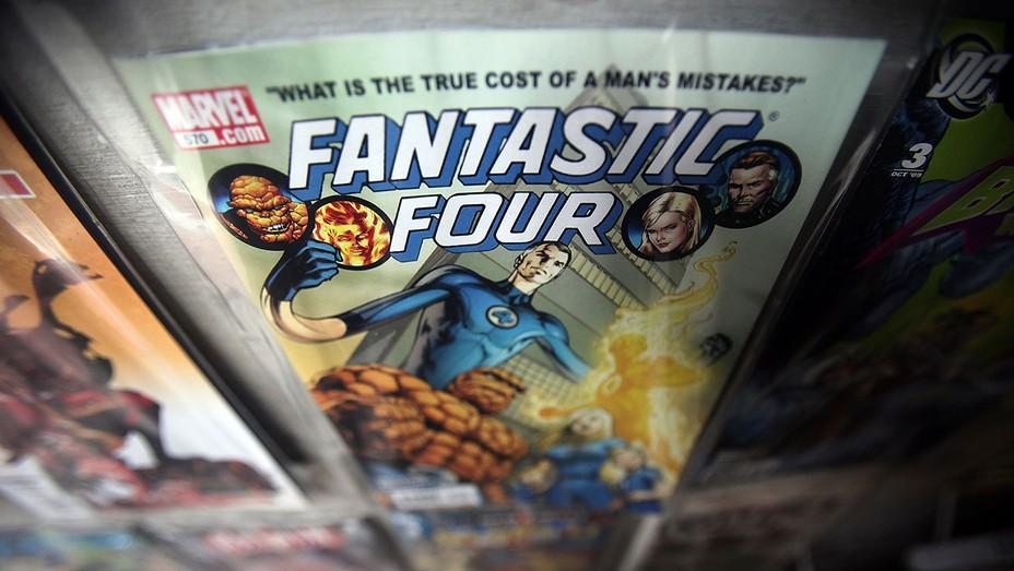 Marvel comic books GETTY - H 2016