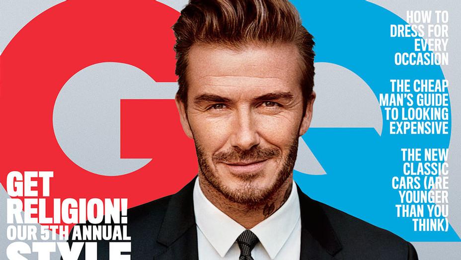 GQ March David Beckham Cover - P 2016