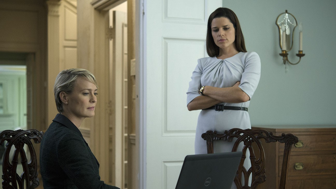 House of Cards Season 4 - Still -Robin Wright- Neve Campbell - Publicity - H2016