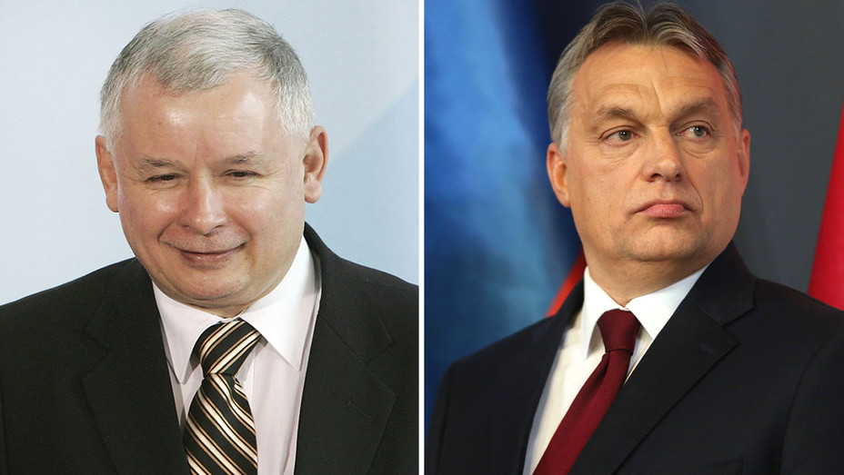 Jaroslaw Kaczynski and Viktor Orban Split - H 2016