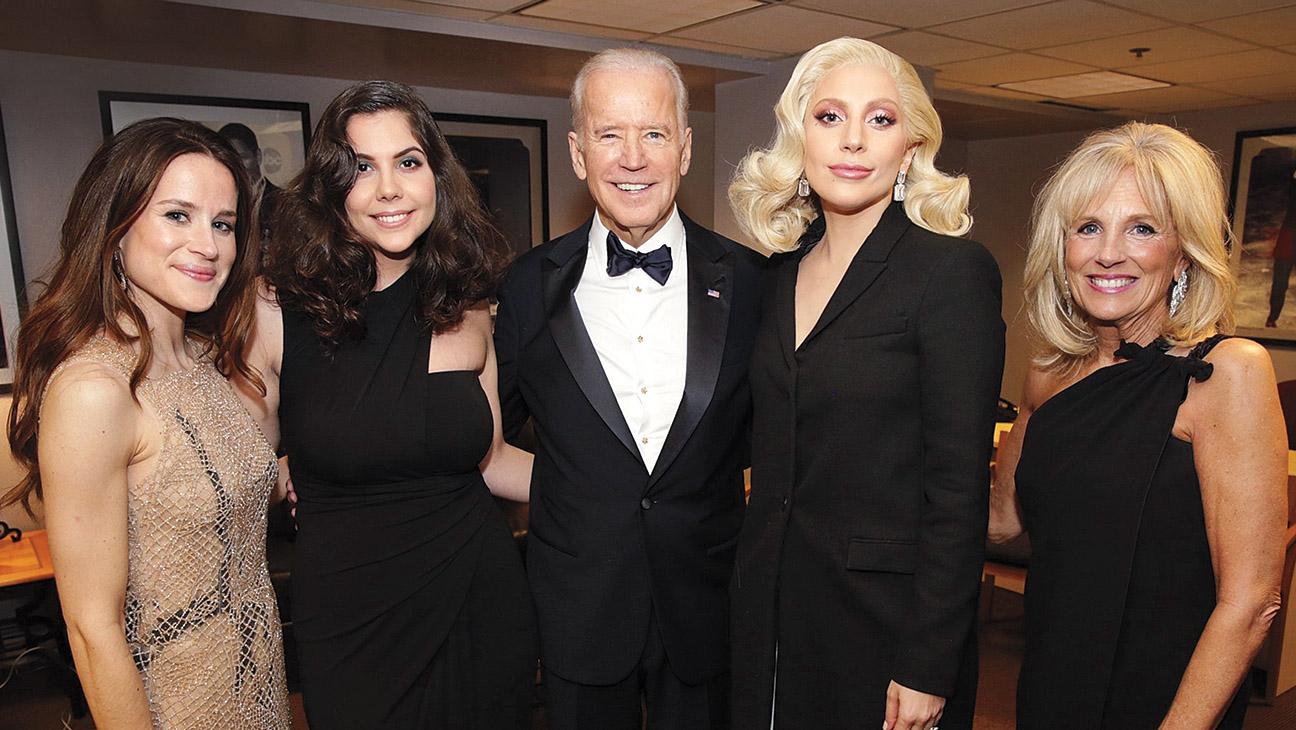 Joe Biden Q A His Anti Sexual Assault Campaign Lady Gaga Surprise And Sad Donald Trump Hollywood Reporter