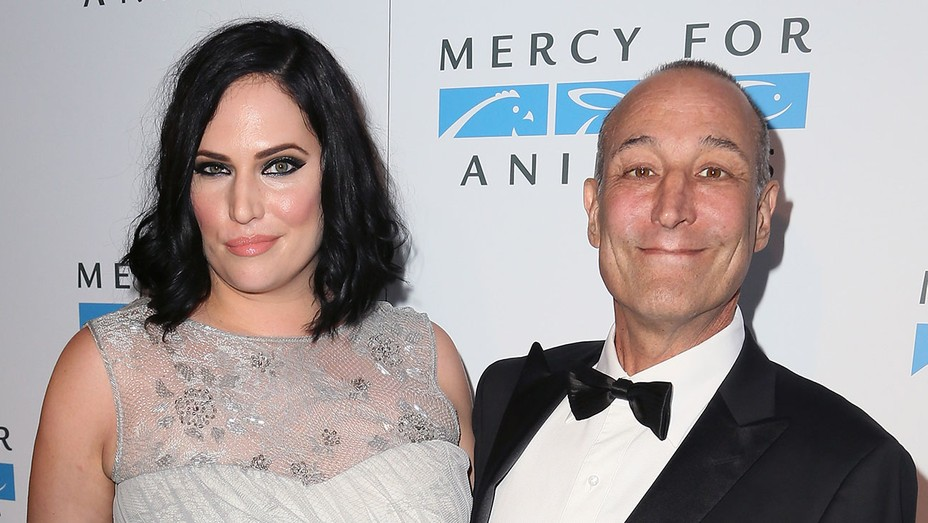 Kate Porter Sam Simon - Getty - H 2016