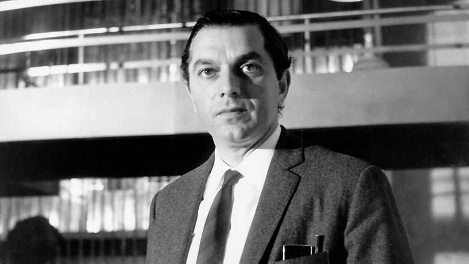Ken Adam on the Goldfinger set 1964 - H 2016