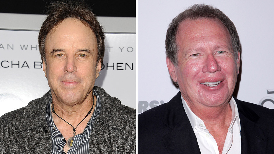 Kevin Nealon and Garry Shandling GETTY - H 2016