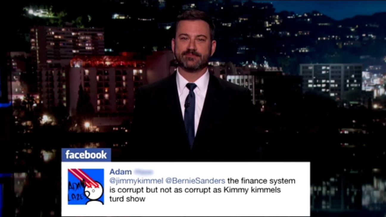 Jimmy Kimmel Politician Tweet — H 2016