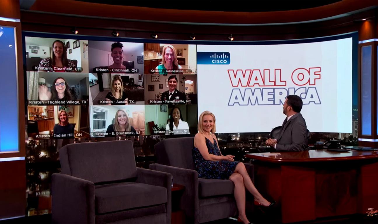 Kristen Bell Jimmy Kimmel H 2016