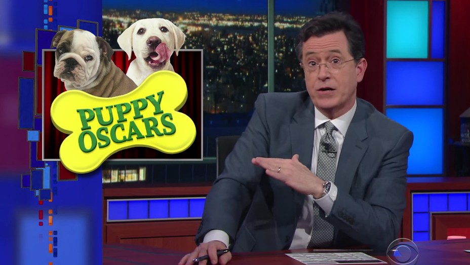 Late Show Puppy Oscars H 2016