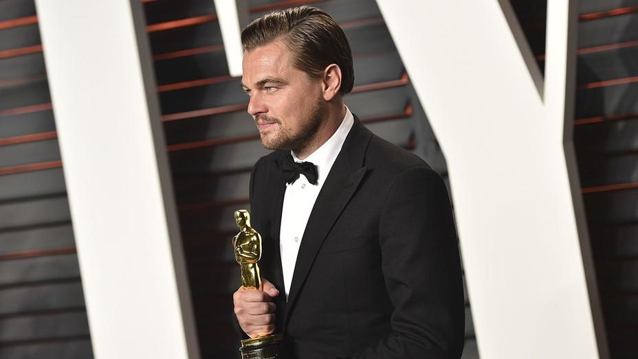 Leonardo DiCaprio Vanity Fair Party - Getty - H 2016