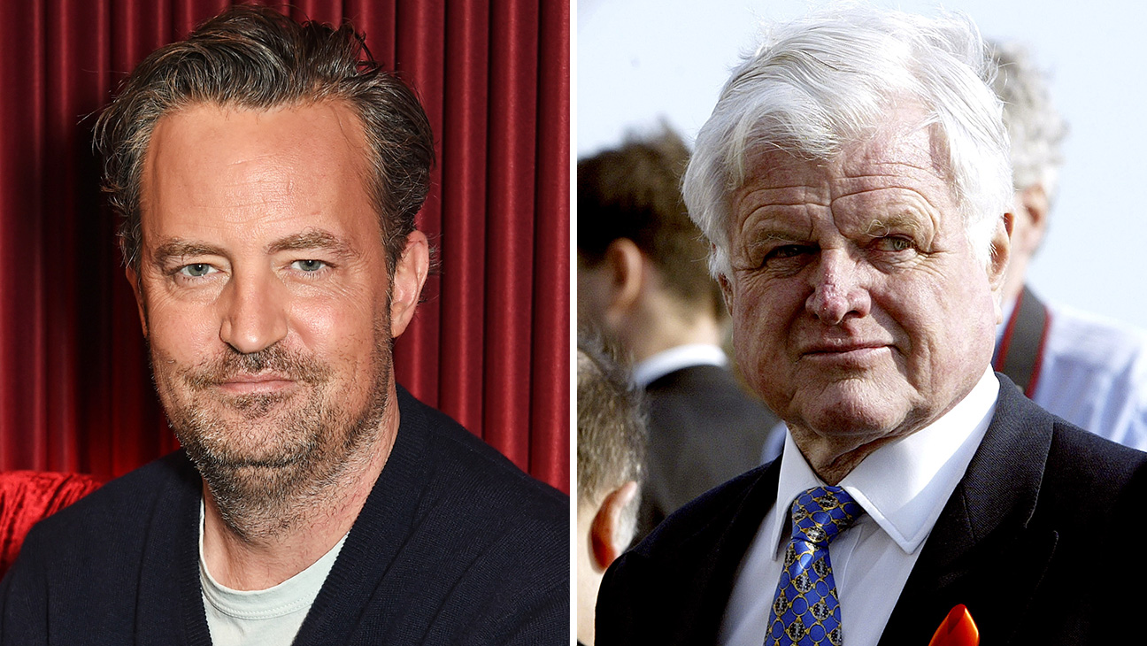 Matthew Perry and Ted Kennedy - H 2016