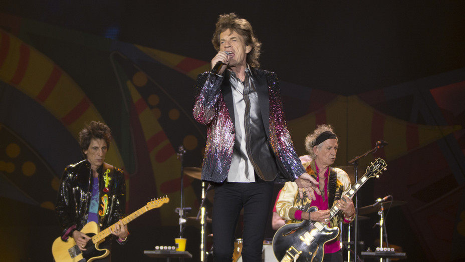 Mick Jagger Rolling Stones Concert Chile H 2016