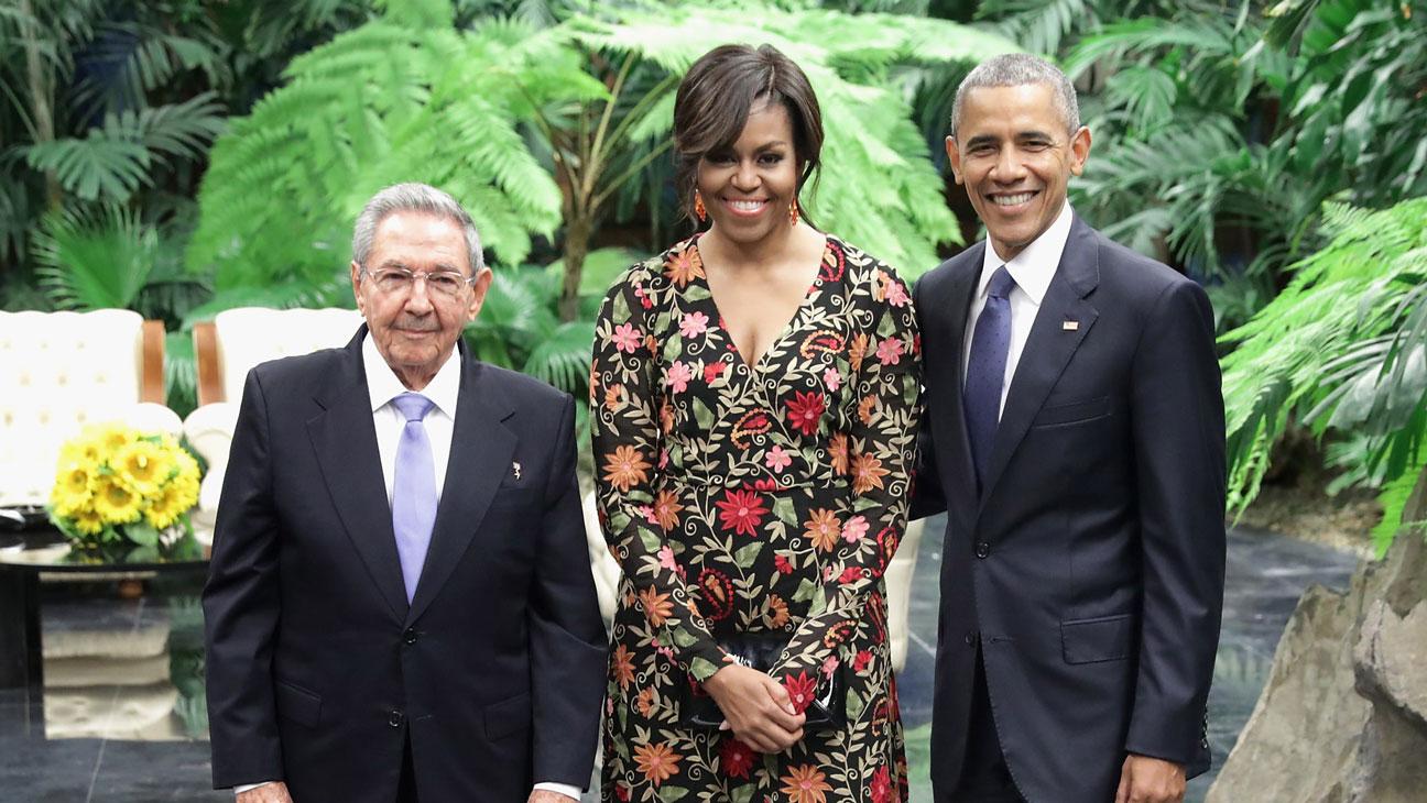 Michelle Obama Naeem Khan - H 2016