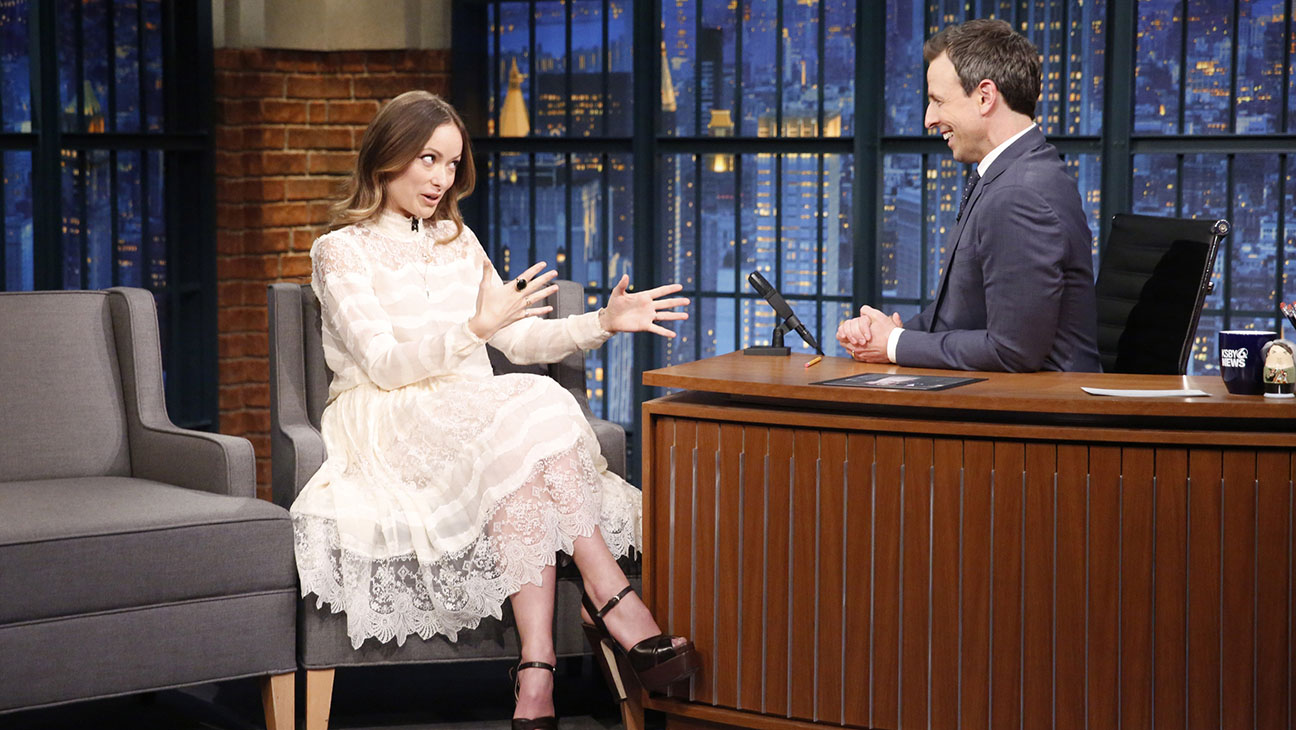 Olivia Wilde Late Night with Seth Meyers - Publicity - H 2016