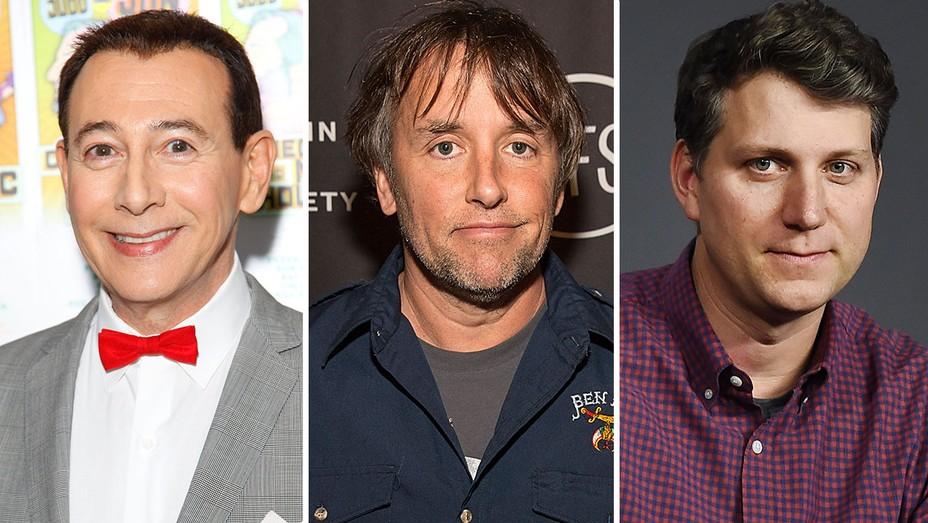 Pee Wee Herman, Richard Linklater and Jeff Nichols - Getty-Split - H 2016