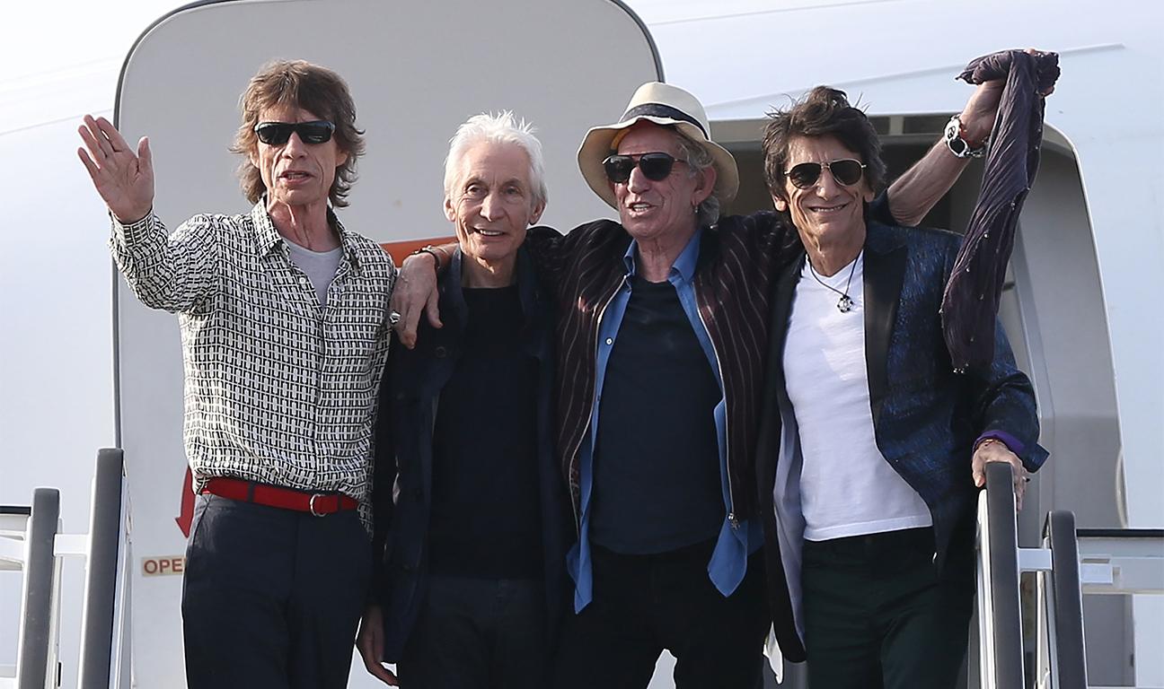 Rolling Stones Cuba Arrival Getty H 2016