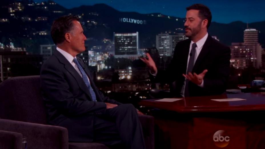Mitt Romney on Jimmy Kimmel - H 2016