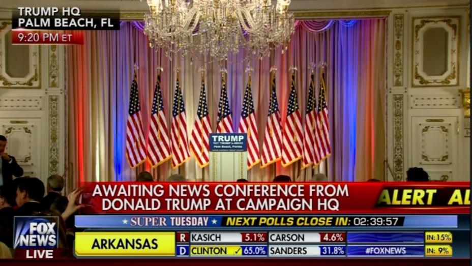 Fox News Super Tuesday 2016 grab - H