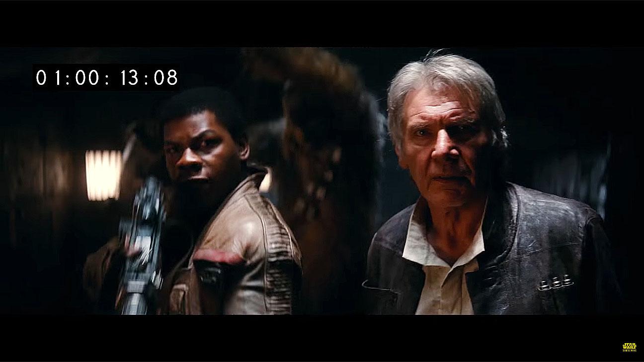Star Wars: The Force Awakens Deleted Scenes Teaser - Screen shot - H 2016