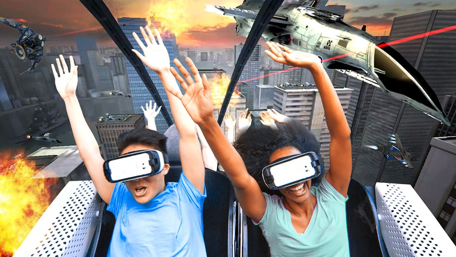 Six Flags VR Roller Coasters H 2016