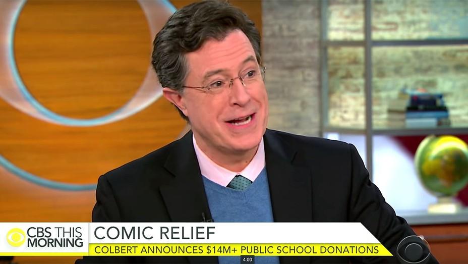 Stephen Colbert on $14M DonorsChoose.org -Screen shot - H 2016