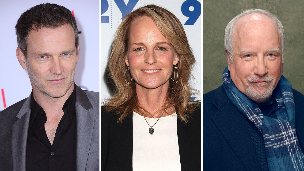 Stephen Moyer_Helen Hunt_Richard Dreyfuss_Split - Getty - H 2016