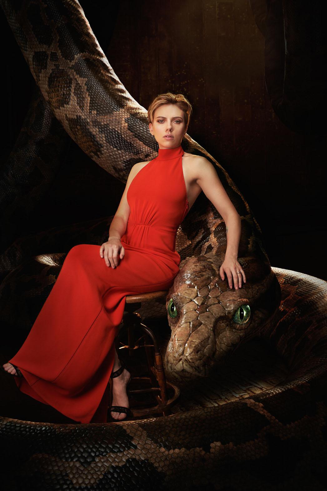 The Jungle Book Scarlett Johansson Art - Publicity - P 2016