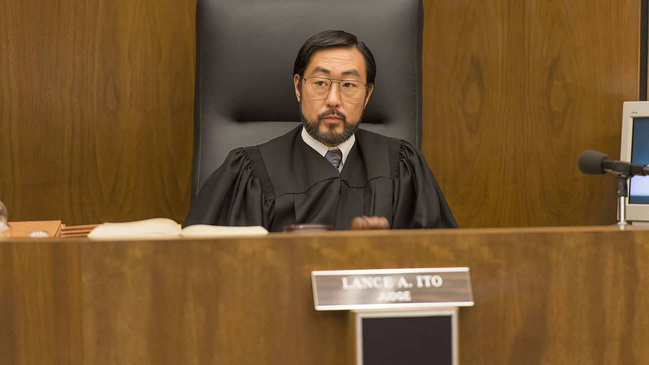 The People v OJ Simpson American Crime Story -Kenneth Choi as Judge Lance Ito - H 2016