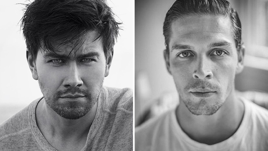 Torrance Coombs and Wade Briggs Split - Publicity - H 2016
