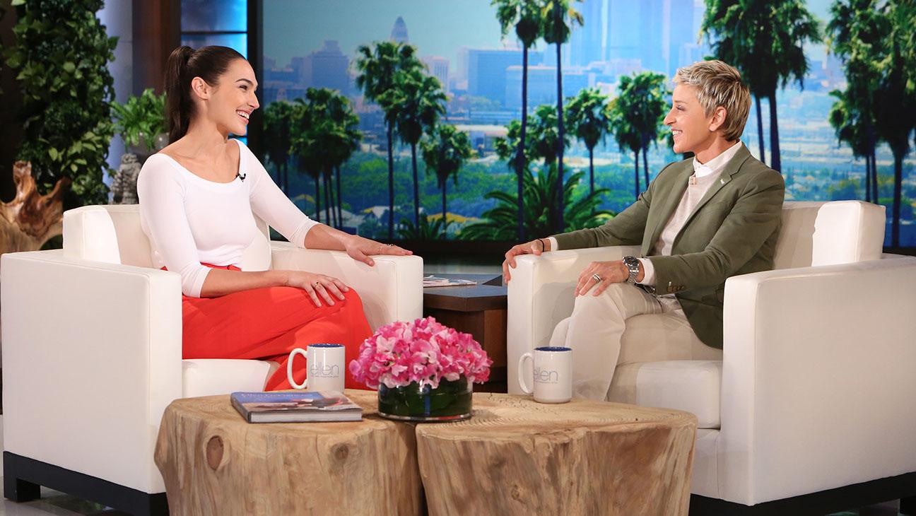 Gal Gadot -Ellen Show- H 2016
