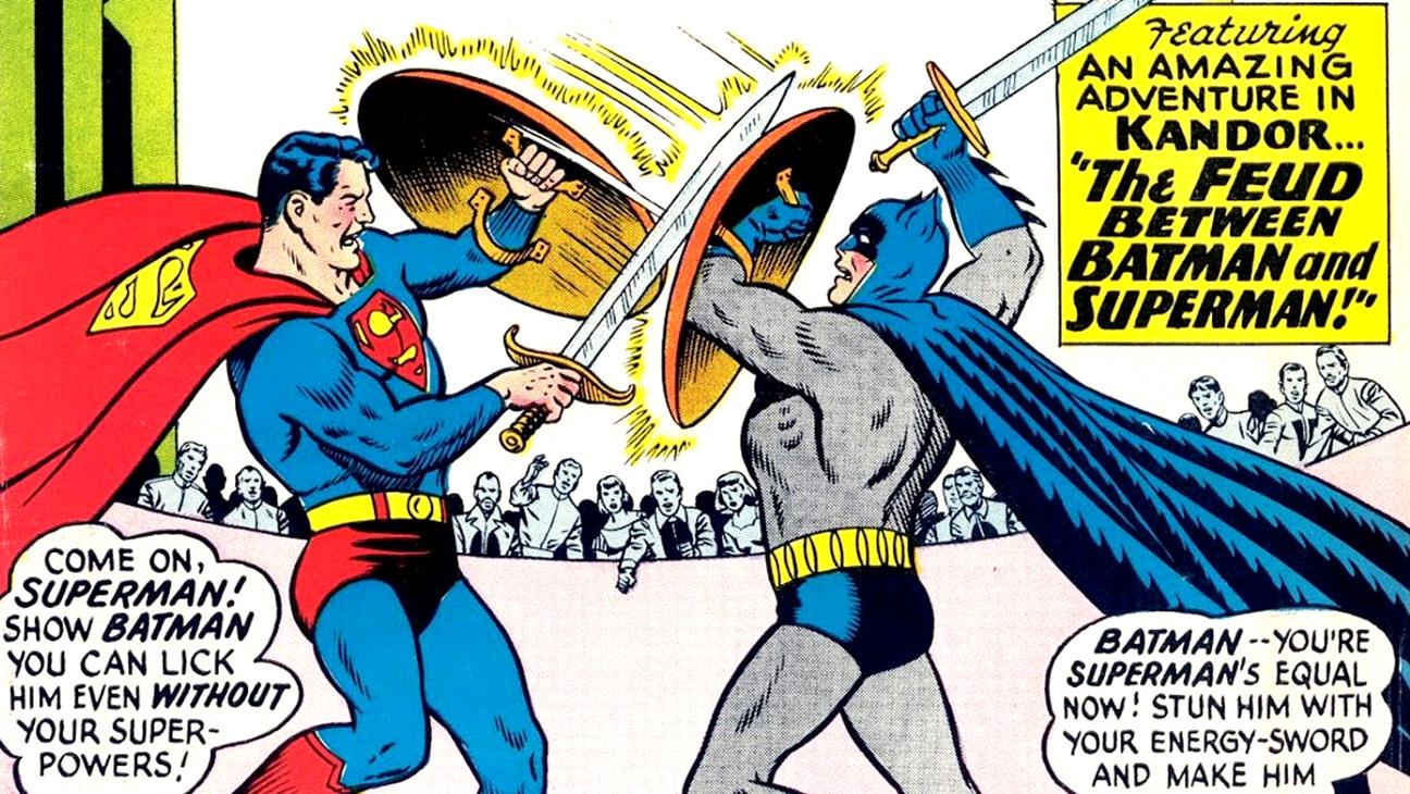 Batman V Superman Who Wins In Each Comic Book Showdown Hollywood Reporter