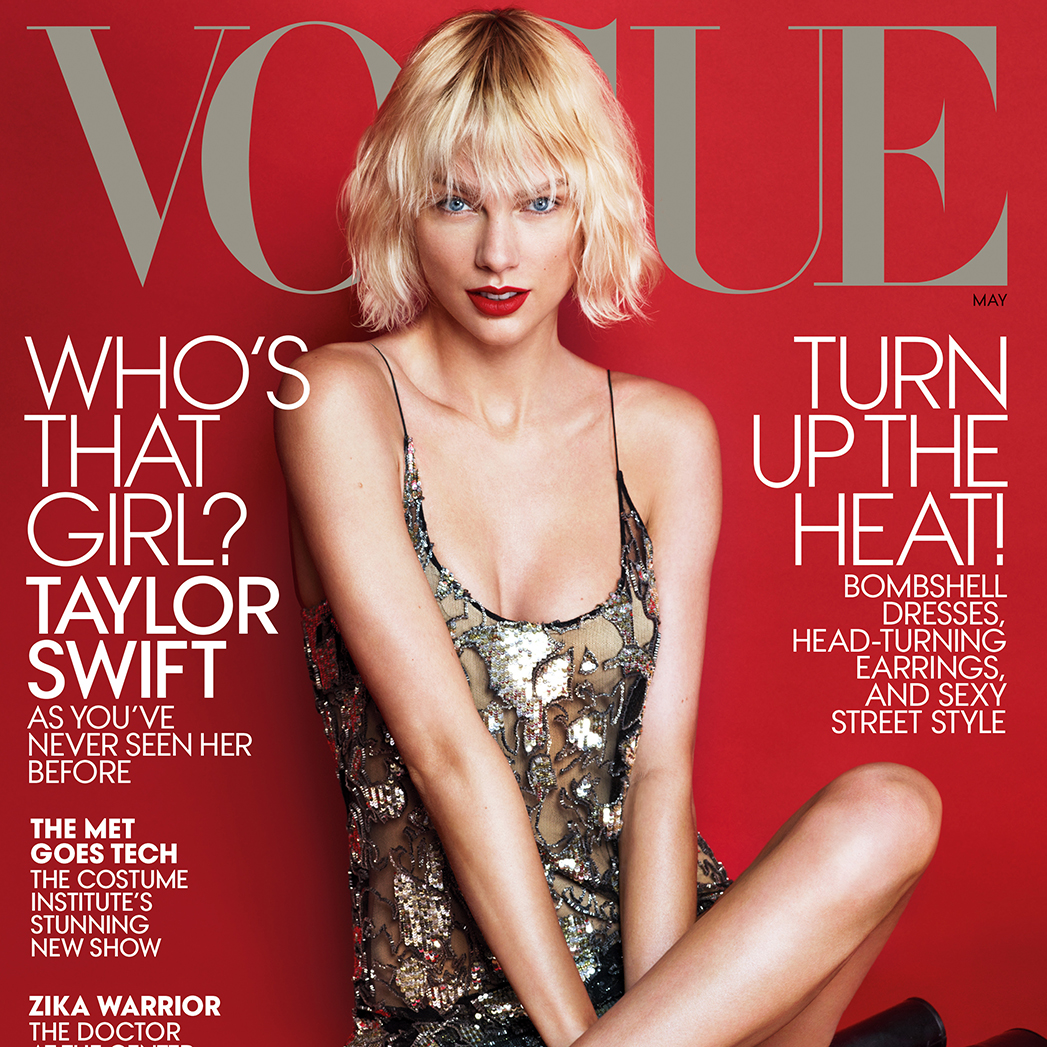 Talor Swift Vogue Cover - S 2016