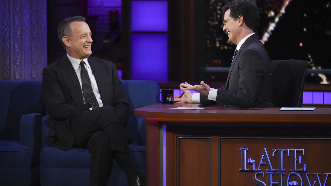 Tom Hanks Late Show - H 2016