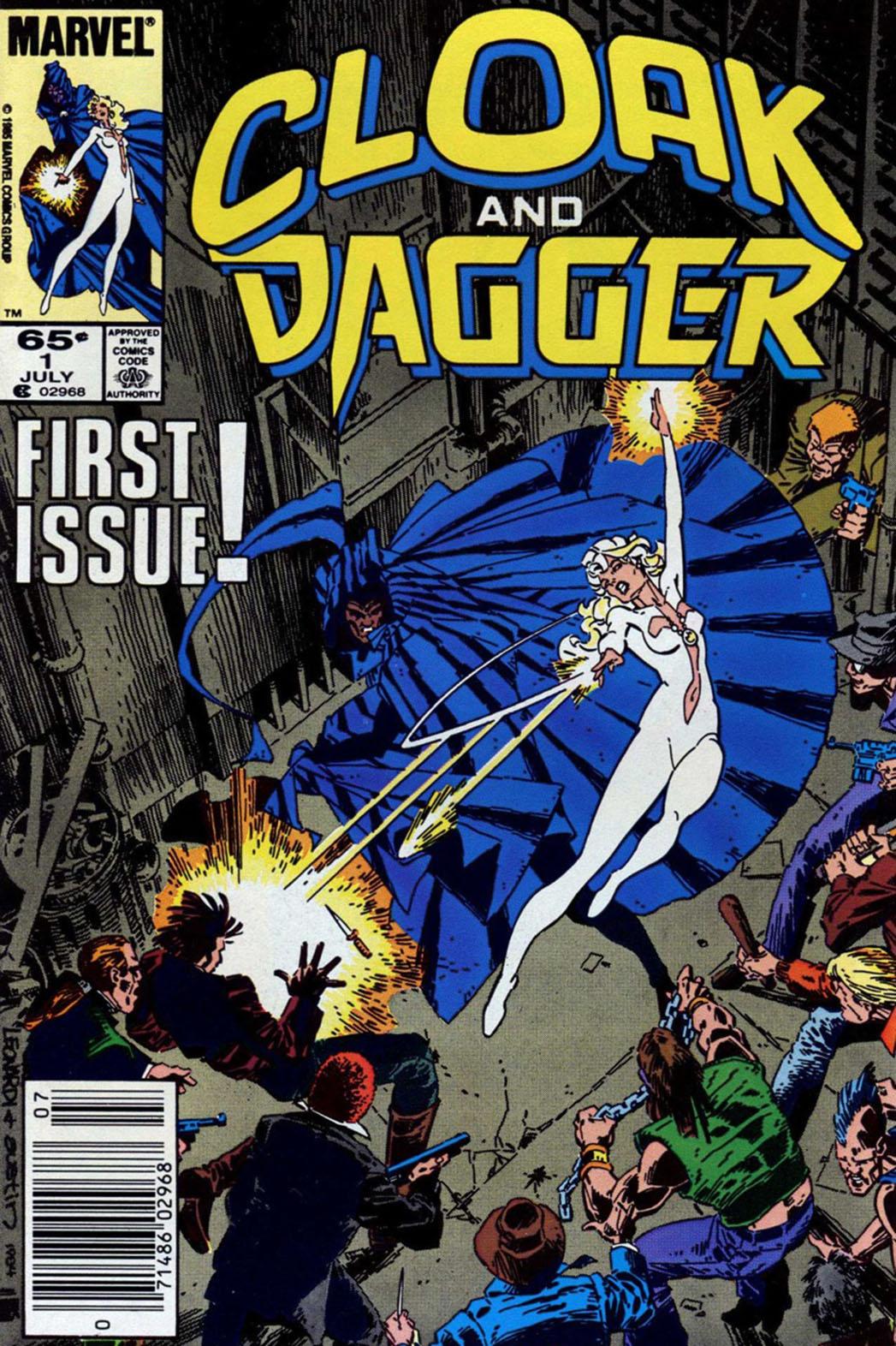Cloak & Dagger comic book cover - P 2016