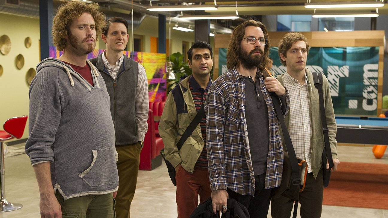 Silicon Valley -Episode 20 (season 3,epic 2): T.J. Miller, Zach Woods, Kumail Nanjiani, Martin Starr, Thomas Middleditch-H 2016