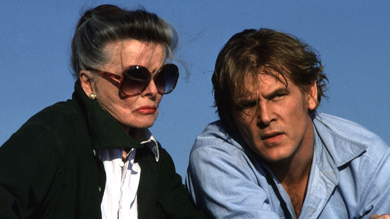 Grace Quigley (1984) - Katharine Hepburn (as Grace Quigley) and Nick Nolte -Photofest-H 2016