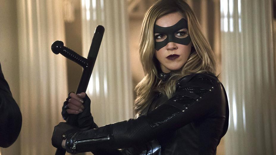 Katie Cassidy on Arrow -Black Canary costume 2 -H 2016