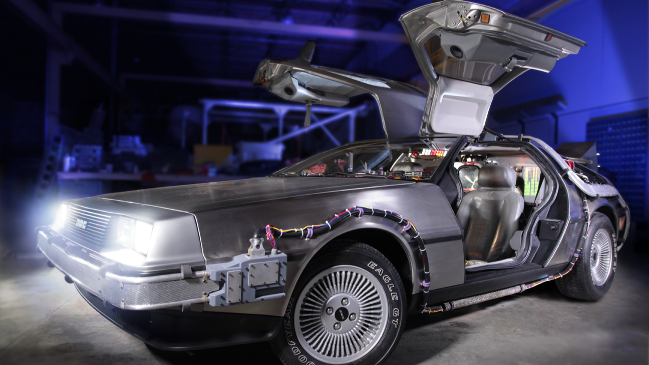 Back to the Future car - H 2016