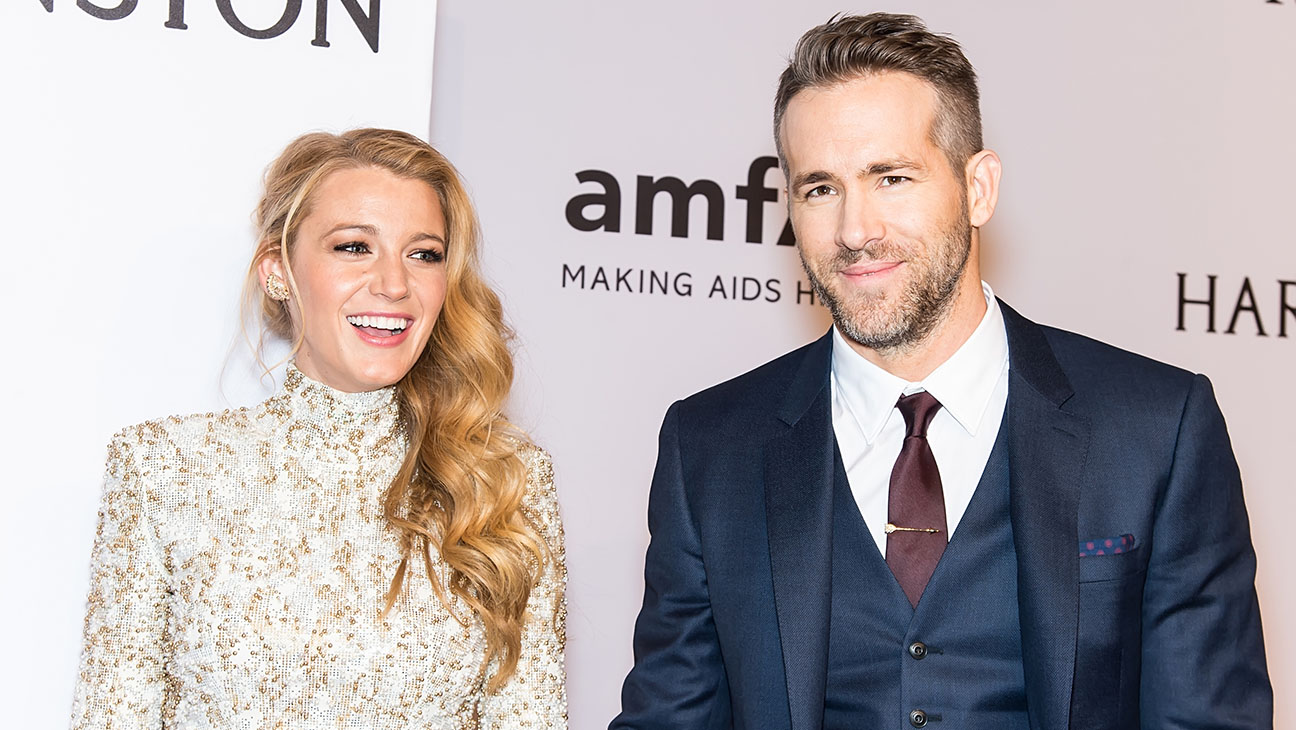Blake Lively and Ryan Reynolds - Getty - H 2016