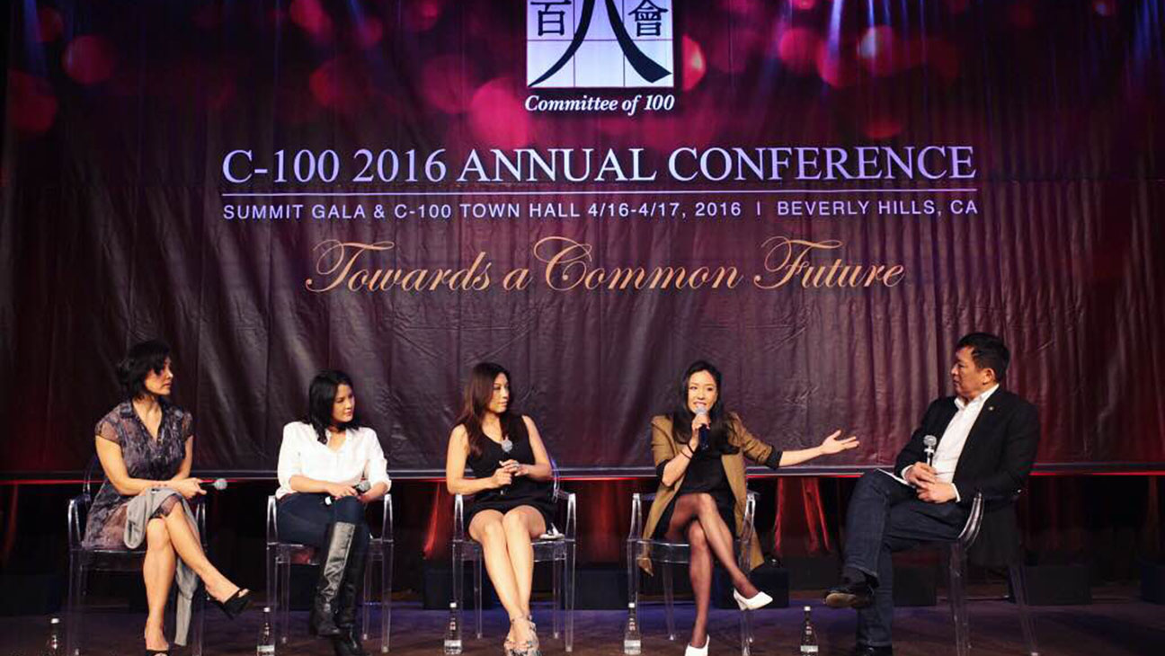 C-100 Asian Americans in Hollywood panel - Publicity - H 2016
