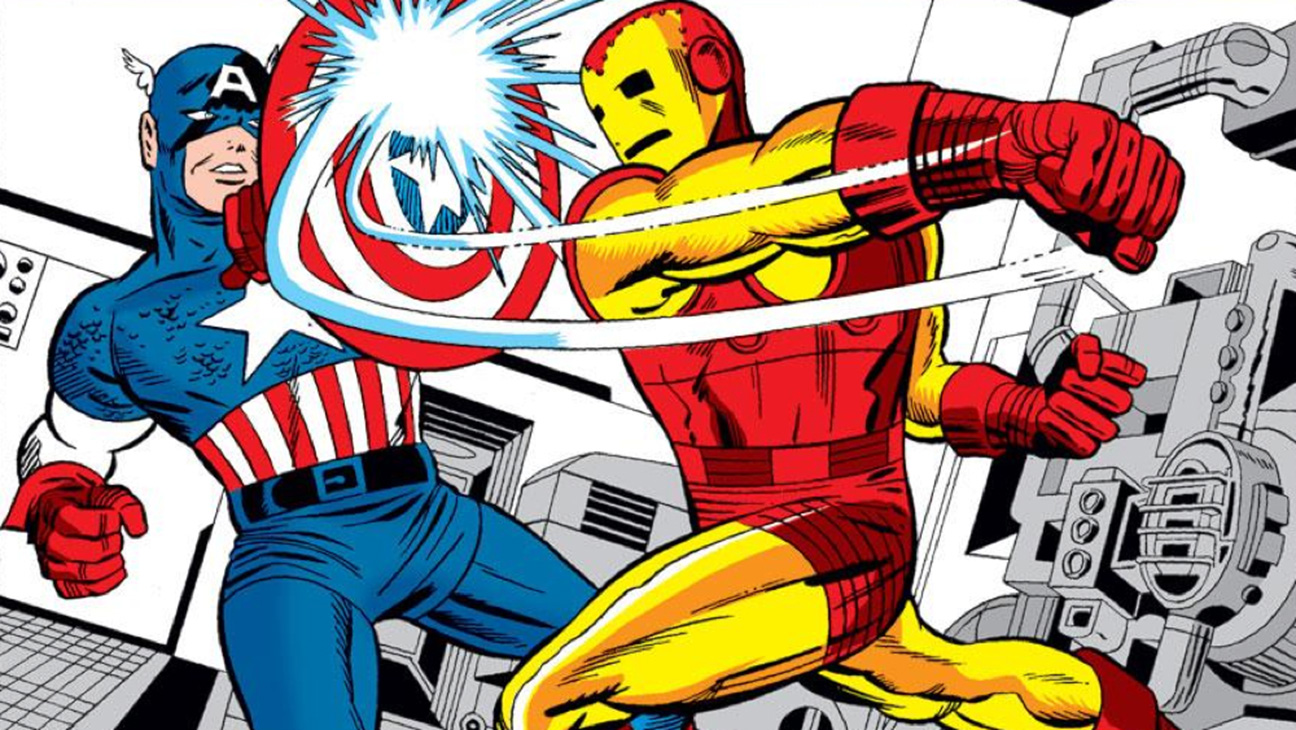 Captain America vs Iron Man comic - H 2016