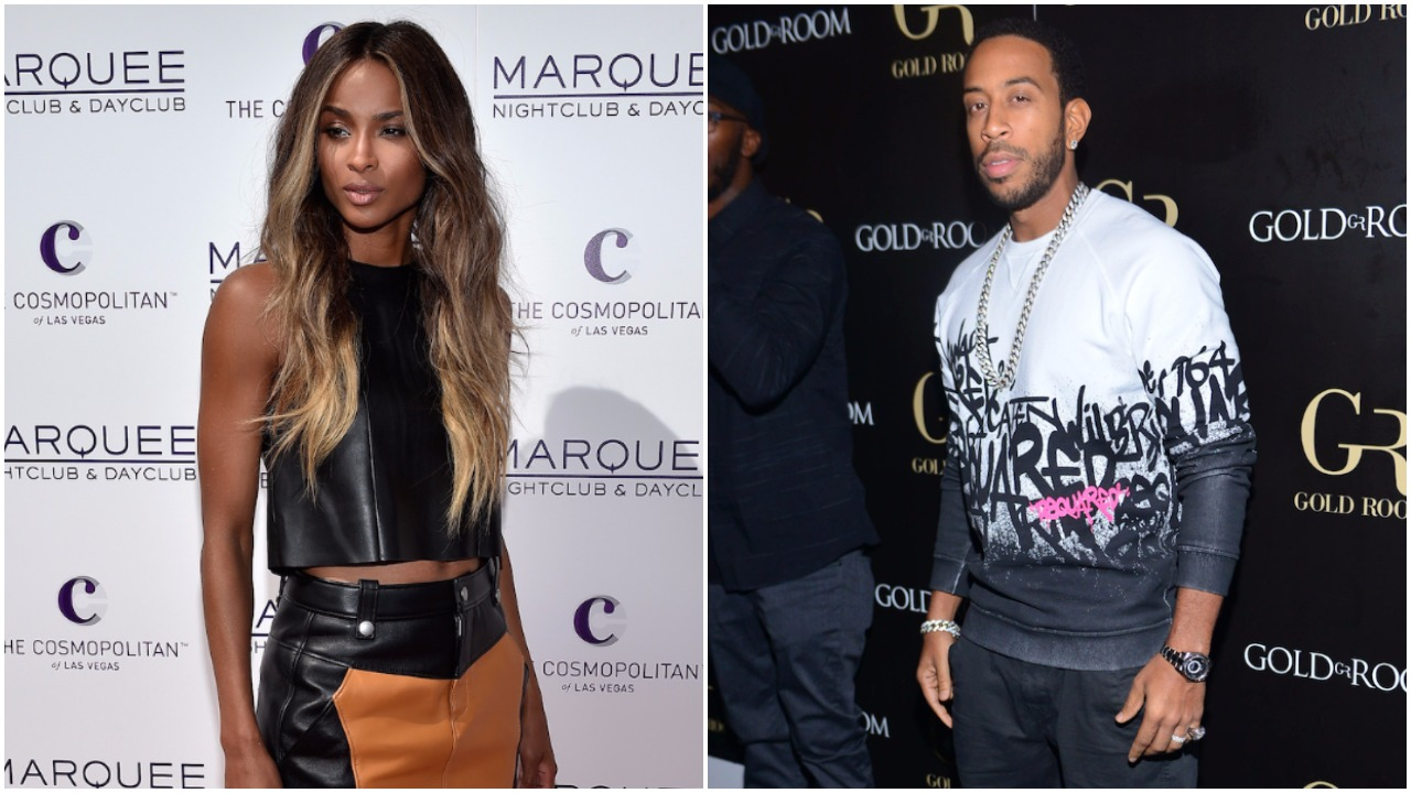 Ciara Ludacris Split GETTY H 2016