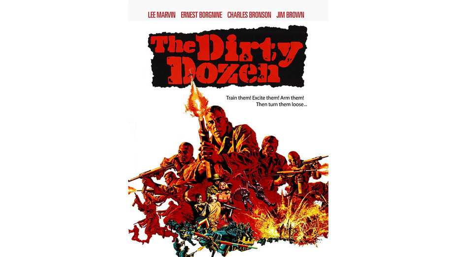 The Dirty Dozen (1967) - Poster - H 2016